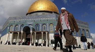 Israel Letakkan Kawat Berduri di Depan Masjidil Aqsa untuk Halangi Donatur Antarkan Makanan