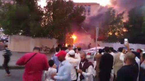 Inilah Ledakan Bom di Luar Kompleks Masjid Nabawi Madinah Yang Menewaskan Beberapa Orang