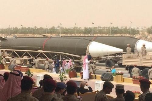 Angkatan Udara Saudi Berhasil Cegat Rudal Balistik yang Ditembakkan dari Yaman