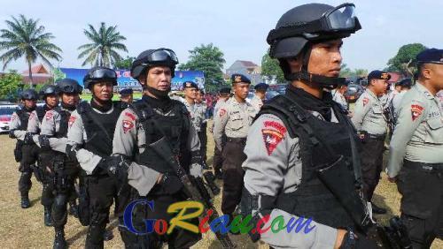 Begini Ketatnya Keamanan Polresta Pekanbaru Pasca Bom Bunuh Diri di Mapolresta Solo