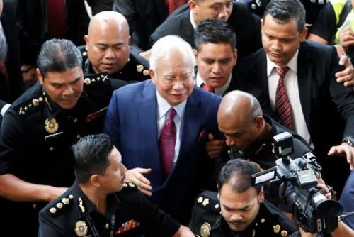 Didakwa Lakukan Sejumlah Kejahatan, Najib Razak Terancam 80 Tahun Penjara