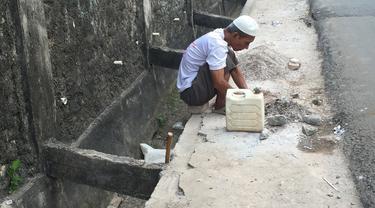 Luar Biasa, Pria Tunanetra Miskin Pemecah Batu di Jakarta Timur Asuh 184 Anak Yatim dan Dhuafa, Begini Kisahnya