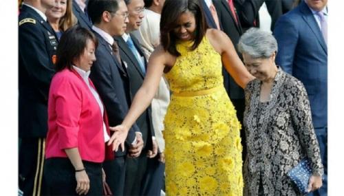 Jadi Tamu Presiden Obama di Gedung Putih, Istri PM Singapura Bawa Tas Tangan Buatan Siswa Autis Seharga Rp150 Ribu, Ini Penampakannya