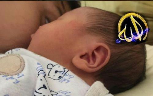 Ada Lafaz Allah pada Telinga Anak ke-3 Arie Untung-Fenita Jayanti, Ini Penampakannya