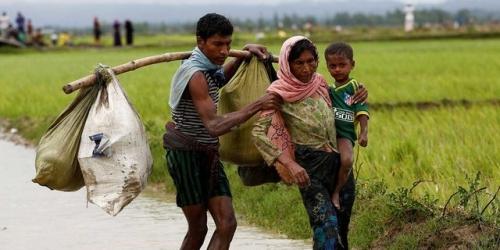 35 Ribu Muslim Rohingya Melarikan Diri dari Myanmar dalam Sehari Terakhir