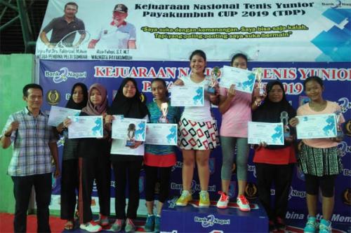 Atlet Tennis RAPP Kembali Tuai Prestasi di Kejuaran Nasional