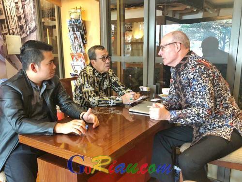 Blue Ocean Consulting Siap Kerjasama dengan Pemprov Riau Majukan Industri Ekonomi Kreatif