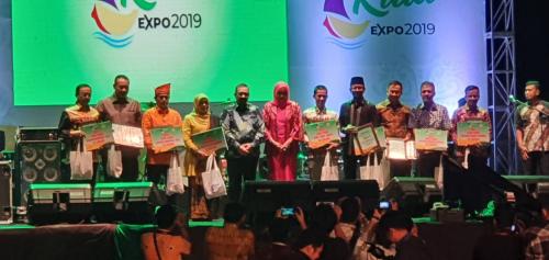 PLN Juarai Stand Terbaik Riau Expo 2019