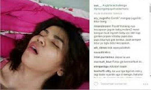 Unggah Foto Istri Sedang Tidur dengan Kondisi . . . Terbuka, Komedian Uus Dimaki Netizen