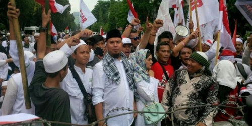 Kesaksian Ustaz Arifin Ilham, Suara Tembakan Tembus Dinding Istana, Teriakan Kapolri Tak Digubris Aparat Polisi