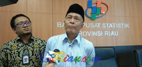 Triwulan III 2019, Ekonomi Riau Tumbuh Melambat 2,74 Persen
