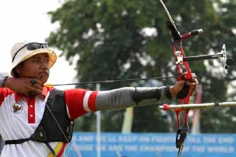 Atlet Panahan Riau Ikut Kejuaraan di Singapura
