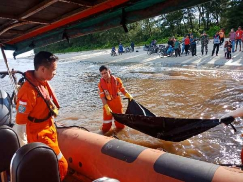 Ada Latihan Militer, Evakuasi Jasad di Pantai Ketapang Bengkalis Sempat Tertunda