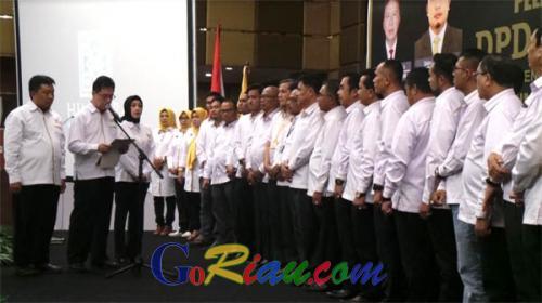 Resmi Dilantik, DPD Himperra Riau Targetkan Bangun 11.000 unit Rumah Bersubsidi