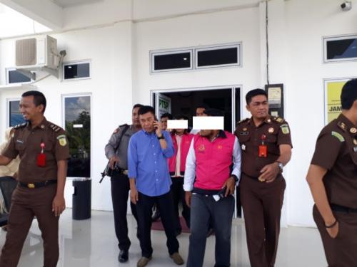 Rugikan Negara Rp395 Juta, Tiga Tersangka Korupsi Bagian Pertanahan Kuansing Ditahan