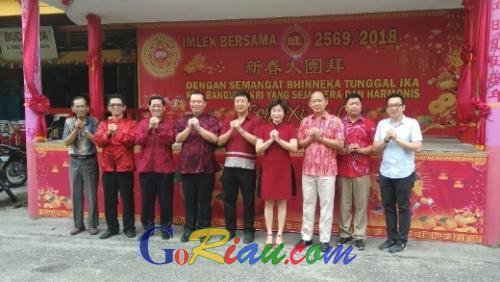 Gelar Bazar, Panitia Perayaan Imlek Bersama 2018 Siapkan Puluhan <i>Stand</i> Gratis untuk Produk UMKM di <i>Chinatown</i> Pekanbaru