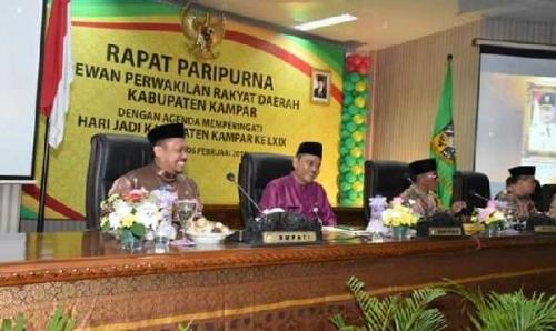 Di Hari Jadi ke-69 Kabupaten Kampar, Ahmad Fikri Perkenalkan Caleg DPR RI