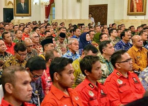 Wabup Said Hasyim Ikuti Rakor Pencegahan Karhutla bersama Presiden Jokowi