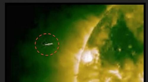 Ahli Lihat Pesawat Alien Dekat Matahari, Ini Penampakannya
