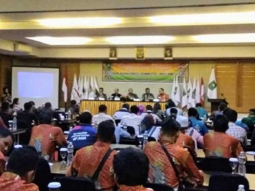 Aklamasi, Jaya Kusuma Pimpin NPC Riau