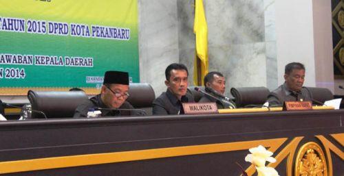 Realisasi APBD Pekanbaru 2014 Capai 98,9 Persen