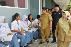Ujian Nasional Tingkat SMA Sederajat di Bengkalis Lancar dan Sukses