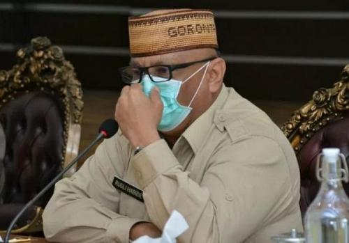 Sambil Terisak, Gubernur Gorontalo: Saya Sumbangkan Gaji Saya Dua Tahun untuk Penanganan Covid-19