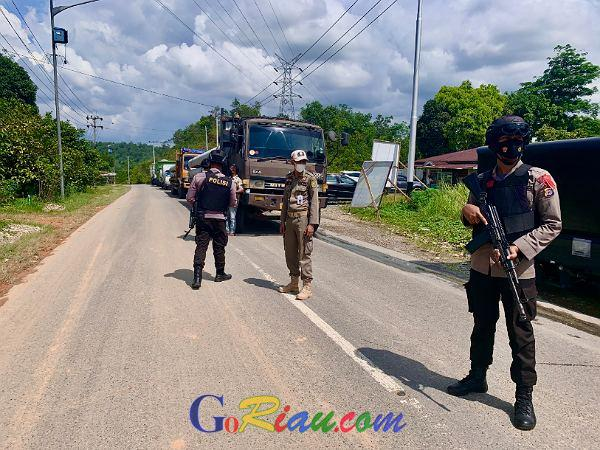 Soal Brimob Bersenjata Lengkap di Perbatasan Riau - Sumbar, Ini Penjelasan Kapolda