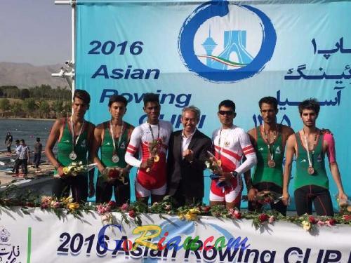Indonesia Akhirnya Raih Peringkat Ketiga Kejuaraan Rowing Asia di Teheran