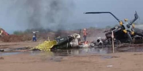 Helikopter Jatuh, 4 Perwira TNI AD Tewas, Begini Kronologisnya Menurut Saksi Mata