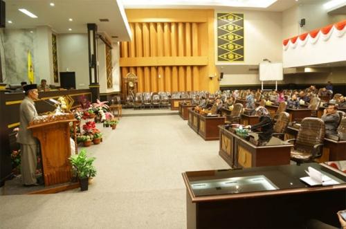 Suasana Puasa, Rapat Paripurna Reses di DPRD Kota Pekanbaru Lesu