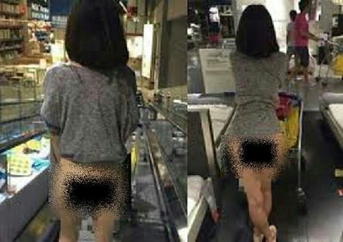 Gonews Wanita Cantik Tanpa Busana Asyik Belanja Di Toko Peralatan