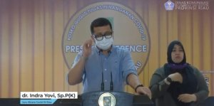 Kabar Duka, Satu Pasien Covid-19 di RS Indrasari Rengat Dinyatakan Meninggal Dunia