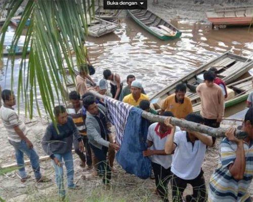 Setelah Dicari di Sepanjang DAS Siarang-arang, Jasad Pencari Rotan Muda Ditemukan Mengapung di Sungai