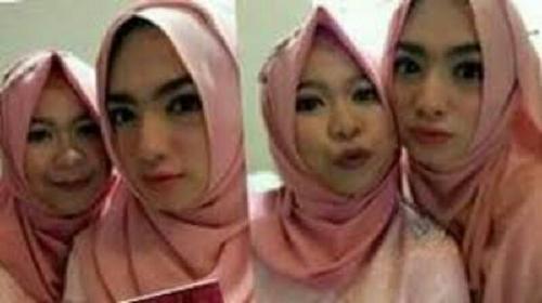 Angel Karamoy Kok Pakai Jilbab? Ini Kata Kakaknya