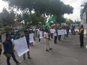 Dugaan Korupsi di Pemkab Siak Meresahkan, HMI Badko Riau-Kepri Datangi Gedung Kejati Riau