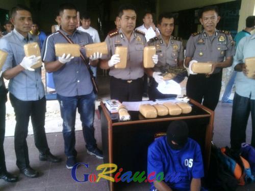 Sudah Jual 50 Kilogram ganja dalam 2 Bulan dengan Keuntungan Rp15 Juta, Bandar Narkotika Jaringan Aceh Terancam Hukuman Mati
