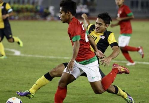 Garuda Indonesia Ganyang Harimau Malaysia 3-0 di Manahan Solo