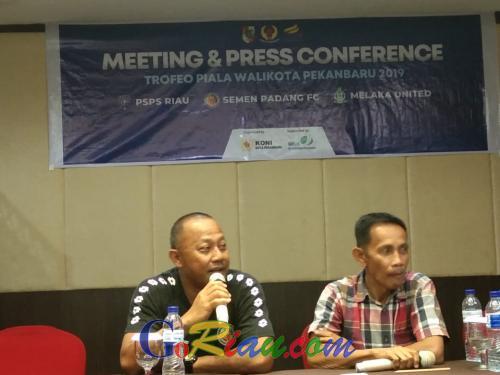 Laga Trofeo Piala Walikota Pekanbaru, Semen Padang FC Uji Pemain Baru