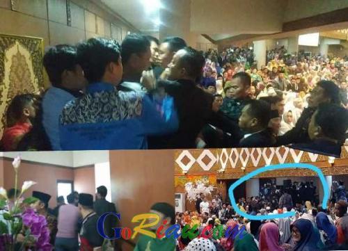 4 Mahasiswa Unri Diamankan Pasca Ribut di DPRD Riau