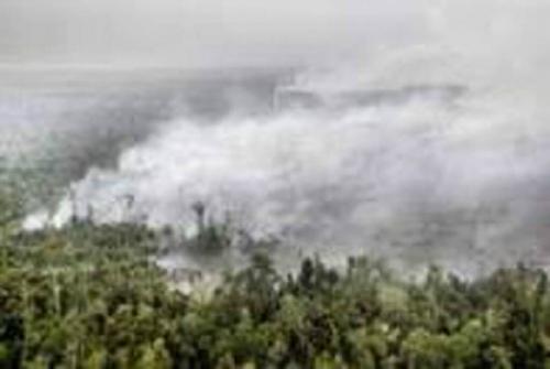 Pagi Ini, 7 Titik Panas Terdeteksi di Riau