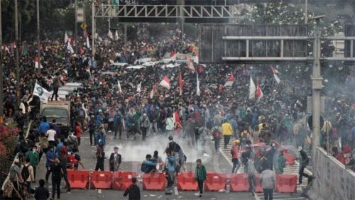 Komnas HAM Sebut Polisi Lebih Represif  Hadapi Demo Mahasiswa Dibanding Saat Tangani Massa Aksi 22 Mei