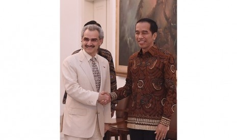 Salah Satu Pangeran Arab Saudi yang Ditahan Pernah Dijamu Jokowi