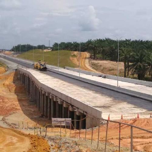 Tak Percuma Mekik-mekik, Plt Gubri Puas Setelah Tinjau Pembangunan Tol Pekanbaru-Dumai, Ini Penampakannya