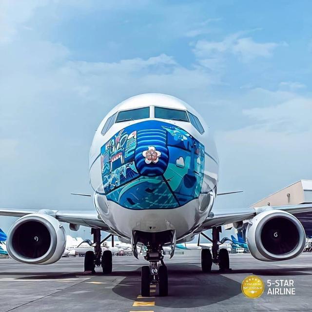 Pesawat Garuda Indonesia Pakai Masker Karya Anak Kuansing, Pjs Bupati: Bukti Anak Daerah Bisa Bersaing