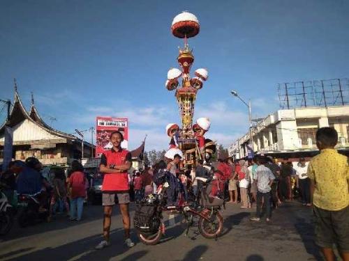 Promosikan Riau, Warga Dumai Ini Keliling Indonesia Pakai Sepeda Selama 2 Tahun