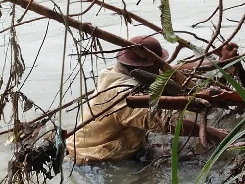 Balita 3 Tahun yang Tenggelam di Sungai Rokan Riau Ditemukan 2 Km dari Lokasi Jatuh