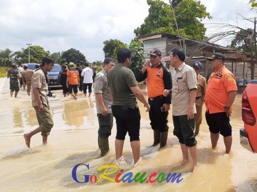 Intensitas Hujan Tinggi, Sungai di Rohul dan Kampar Riau Waspada Banjir
