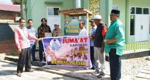 Jumat Barokah akan Jadi Agenda Rutin Sahabat H Asmar Dalam Menyapa Warga Kepulauan Meranti