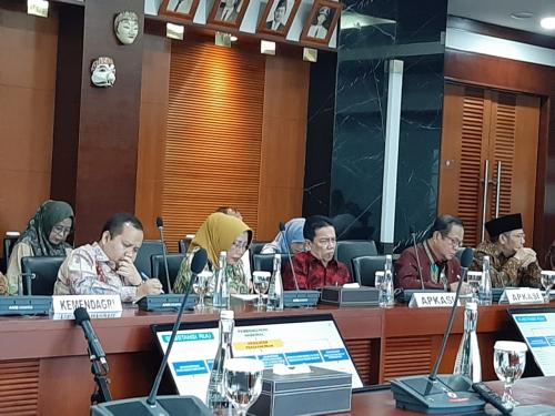 Bupati Irwan Ikut Rakor Bersama Menteri Keuangan Sri Mulyani